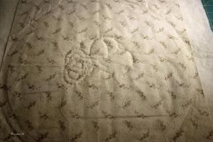 Midten av håndquilting - celtic knot